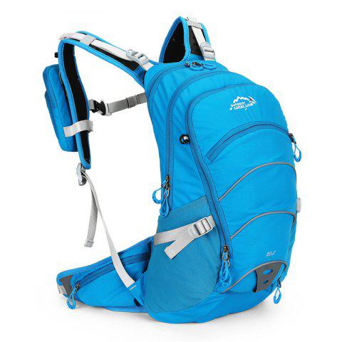 OutdoorLocallion 568 Outdoor Hiking Backpack / Travelling Bag - WINDOWS BLUE