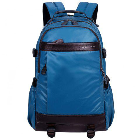OutdoorLocallion Casual Backpack Fashion Sport Outdoor Travel School Bag - WINDOWS BLUE