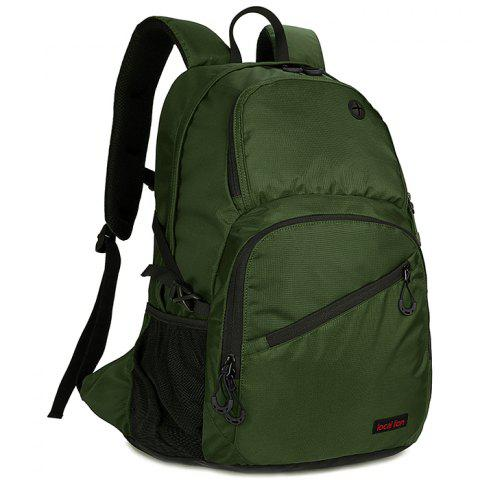 OutdoorLocation 560 Large Capacity Casual Backpack for Traveling - ARMY GREEN