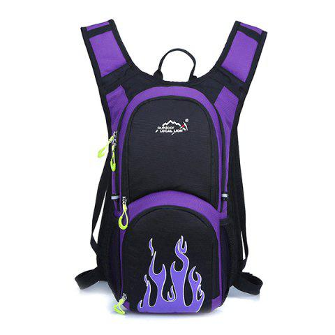 OutdoorLocallion Light Weight Backpack for Travel Sports - PURPLE IRIS