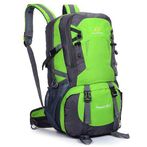 Large-capacity Waterproof  Backpack for Outdoor Camping - ALIEN GREEN