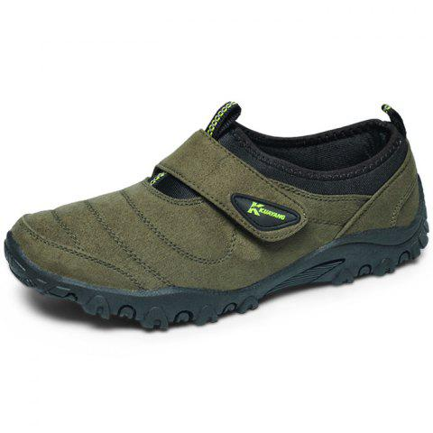 Outdoor Comfortable Classic Slip-on Casual Flat Shoes for Men - SEAWEED GREEN 43
