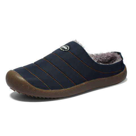 Fashion Leisure Comfortable Flat Loafer Shoes - BLUE 37