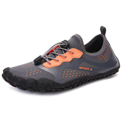 Fashion Breathable Quick Dry Light Couple Sneakers - TANGERINE 47