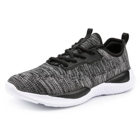 Fashion Comfortable Soft Classic Durable Sneakers for Men - BLACK 45
