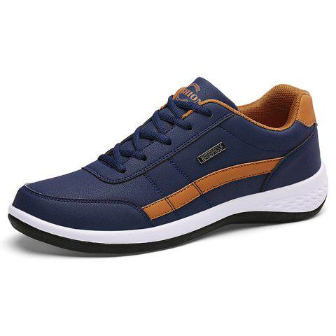 Comfortable Fashion Sports Shoes for Man Rubber Outsole - BROWN 41
