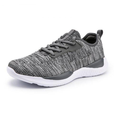 Fashion Comfortable Soft Classic Durable Sneakers for Men - BATTLESHIP GRAY 39
