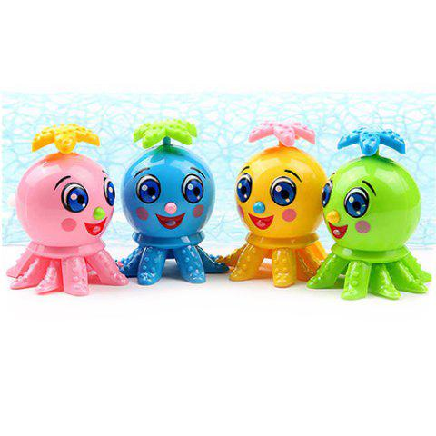 Cartoon Clockwork Crawling Octopus Toy for Kids - multicolor A