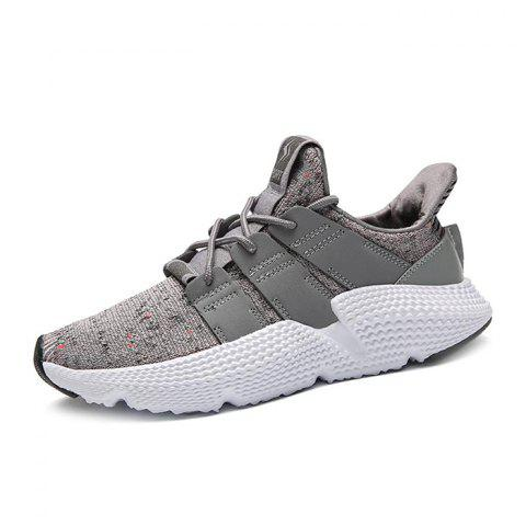 Mode Casual MD Sneakers Sole Pour Hommes - Gris Clair 39