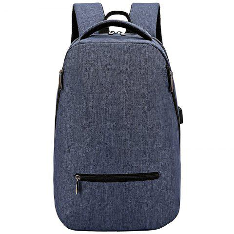 FLAMEHORSE Brief Style Nylon Backpack for Traveling Working - BLUE EYES