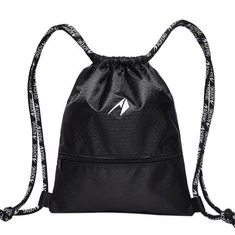 Aofeng Light Weight Mini Backpack for Basketball - BLACK SIZE S