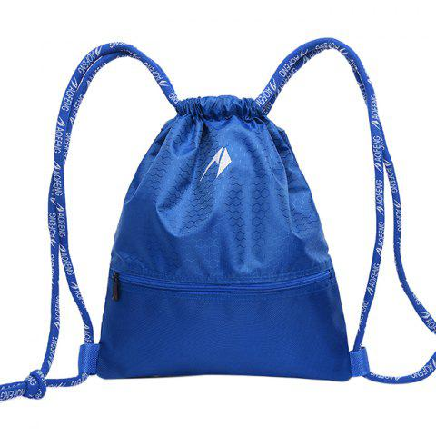 Aofeng Light Weight Mini Backpack for Basketball - BLUEBERRY BLUE SIZE L