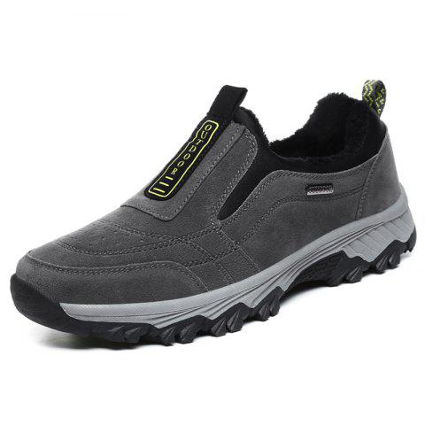 Male Classic Comfortable Anti-slip Hiking Shoes - GRAY 43