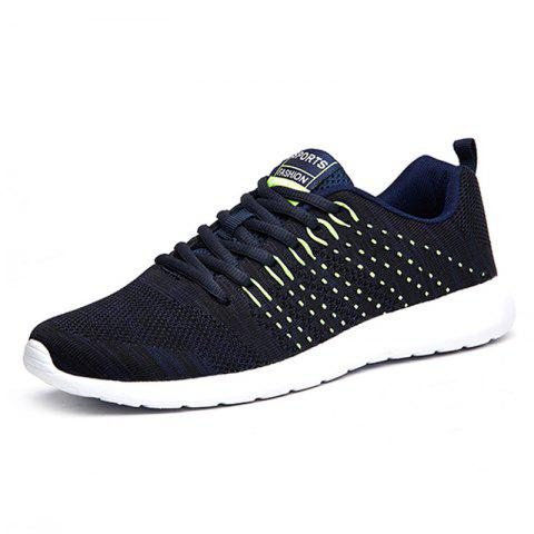 Sports Comfortable Breathable Running Shoes for Man - ROYAL BLUE EU 45