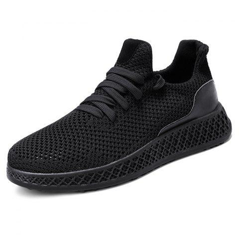 02a231a7e9 17% OFF] 2019 Men Mesh Fabric Casual Athletic Sports Shoes Sneakers ...