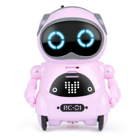 Mini Electric Multifunction Intelligent Smart Robot for Children - BLOSSOM PINK