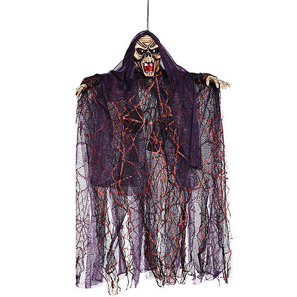 Creative Halloween Hanging Ghost Witch Pendant Decoration - MAROON