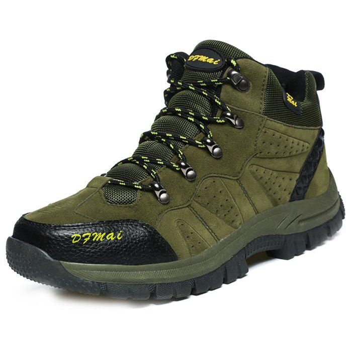 Outdoor Anti-slip Comfortable Casual Couple Hiking Shoes - ARMY GREEN 43
