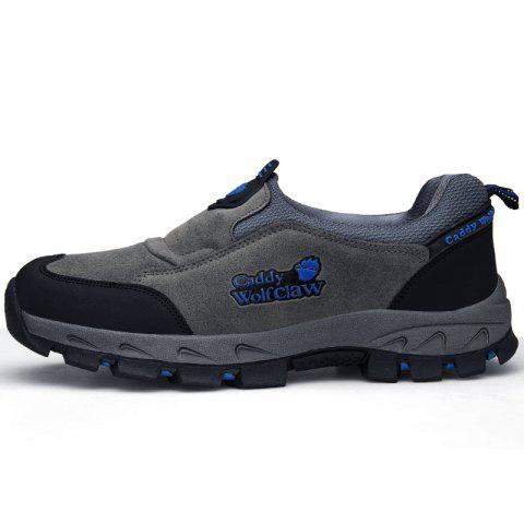 Comfortable Outdoor Sports Climbing Sneakers - SLATE GRAY EU 44