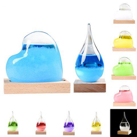 Cute Weather Forecast Bottle for Home Decoration