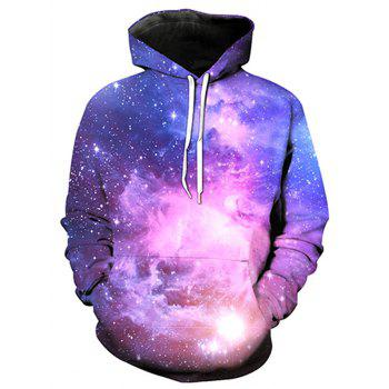 Image of 0568 Starry Sky Design Fashion Men s Hoodie