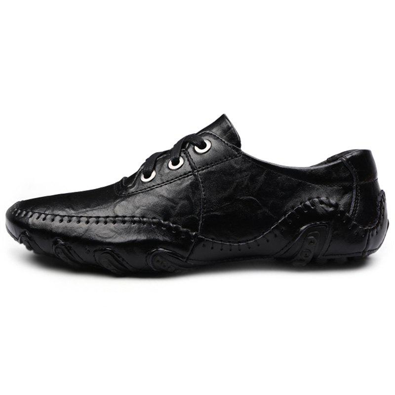 Octopus Tie Business Casual Shoes for Man, Black