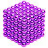 5mm Educational Fidget Magnetic Ball Stress Relief Toy Gift for Kids 216pcs - BRIGHT NEON PINK