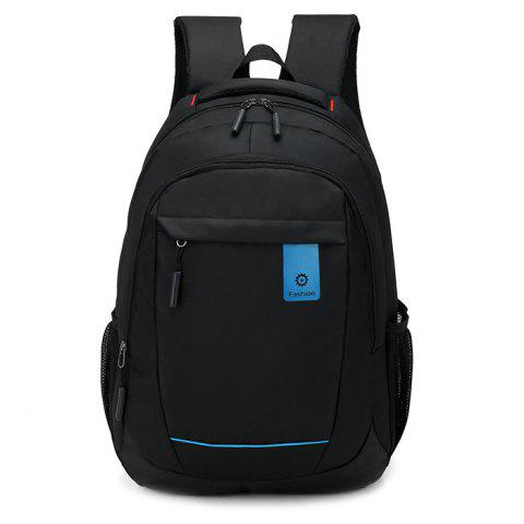Oxford Fabric Large Capacity Casual Backpack - BLACK 3