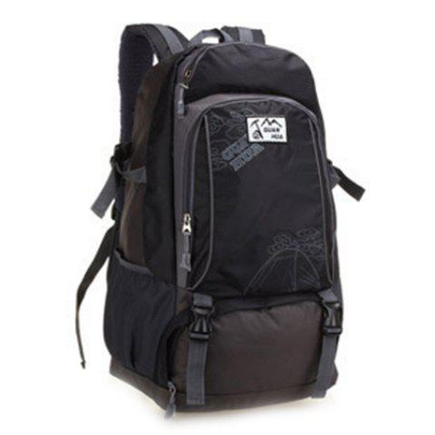 40L Large Capacity Casual Men's Backpack - BLACK