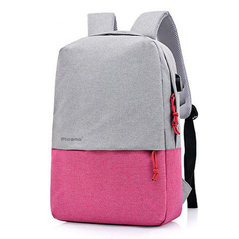 Picano Leisure Smart Recharge USB Sac à dos - Rose Gâteau STYLE 3
