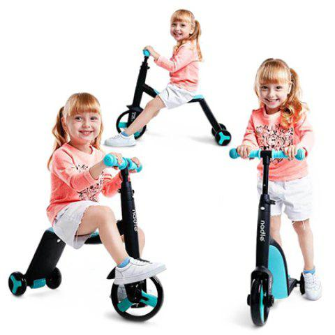 3 in 1 Trendy Children Scooter Tricycle Balance Bike Riding Toy 1pc - BLUE ZIRCON