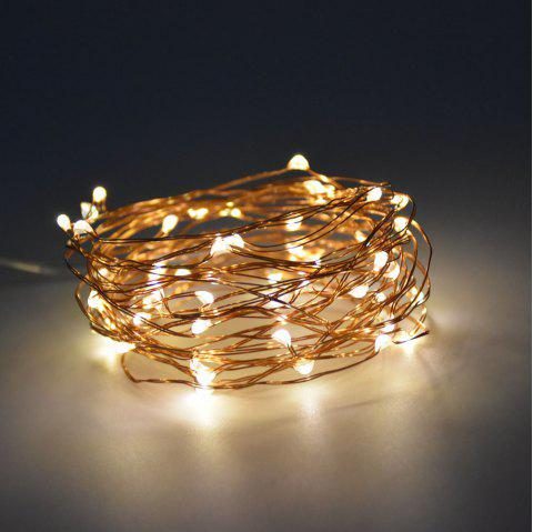 Utorch 3m 30-LED Decoration String Light with Battery Box for Festival - WARM WHITE 3M