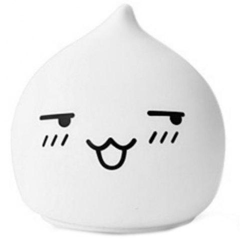 Creative Silica Gel Night Light 1pc - WARM WHITE HUMBLE CAT INCLEDED REMOTE