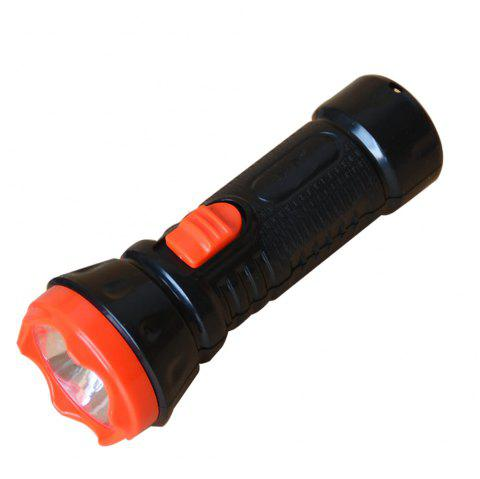 BRELONG BG - 041 Rechargeable LED High Power Flashlight - BLACK