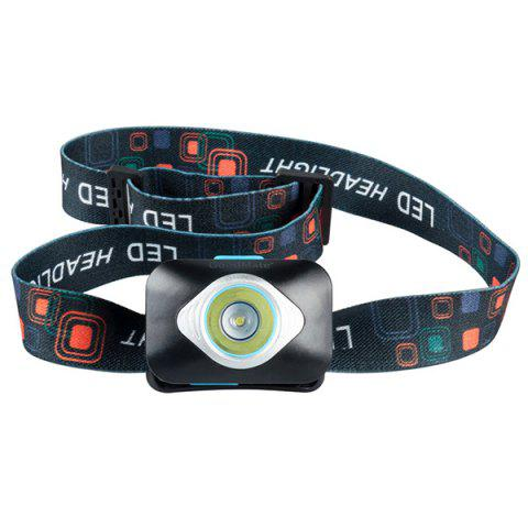 GoodMate GMT - B01 Portable LED Headlamp for Outdoor - BLACK