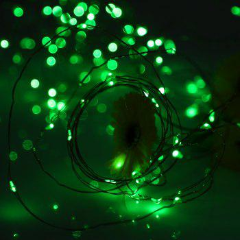 Utorch 3m 30-LED Decoration String Light with Battery Box for Festival - GREEN 3M