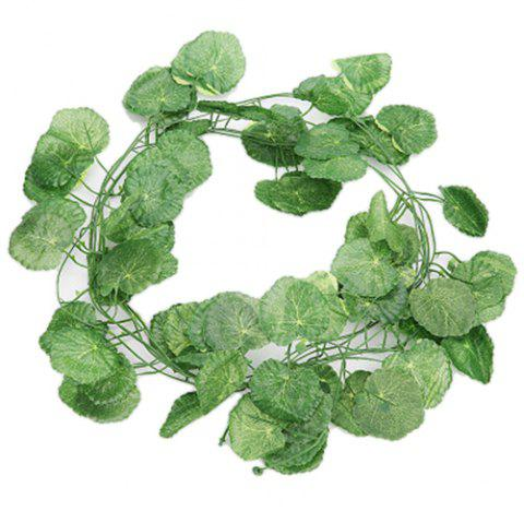 Artificial Rattan with Different Shapes / Green Plants for Decoration - MEDIUM SPRING GREEN SWEET POTATO