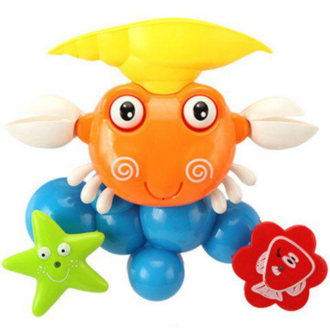 Creative Water Spray Shower Toys Gift for Kids - multicolor A CRAB