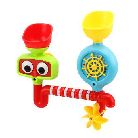 Creative Water Spray Shower Toys Gift for Kids - multicolor A FAN