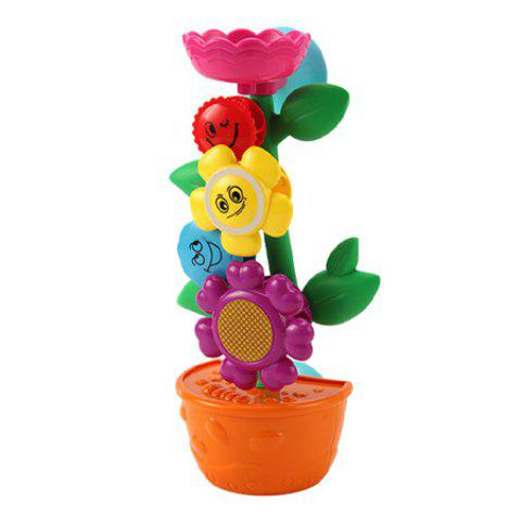 Creative Water Spray Shower Toys Gift for Kids - multicolor A FLOWER