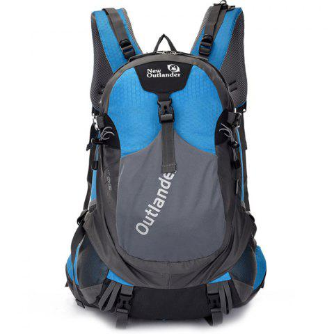 New Outlander 2142 Fashion Sport Leisure Function Backpack - SILK BLUE