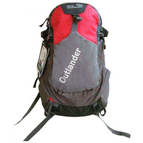 New Outlander 2142 Fashion Sport Leisure Function Backpack - RED