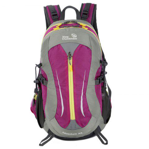 New Outlander 2233 New Multi-function Waterproof Backpack - VIOLA PURPLE