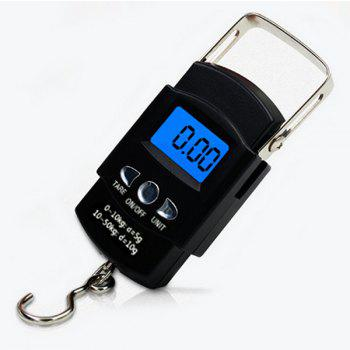 Household Digital Electronic Hanging Scale - BLACK