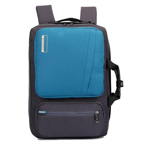 SOCKO Fashionable Leisure Outdoor Backpack - SILK BLUE