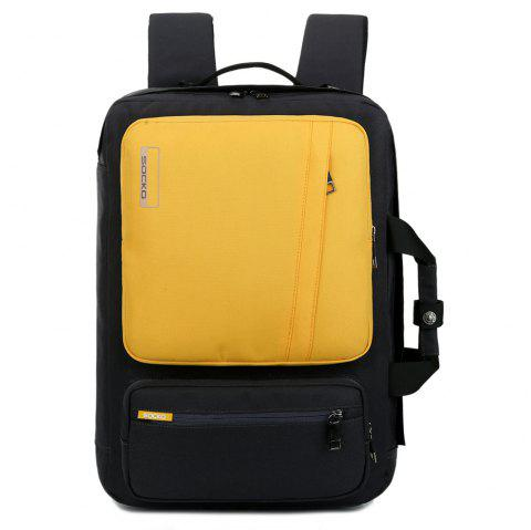 SOCKO Fashionable Leisure Outdoor Backpack - RUBBER DUCKY YELLOW