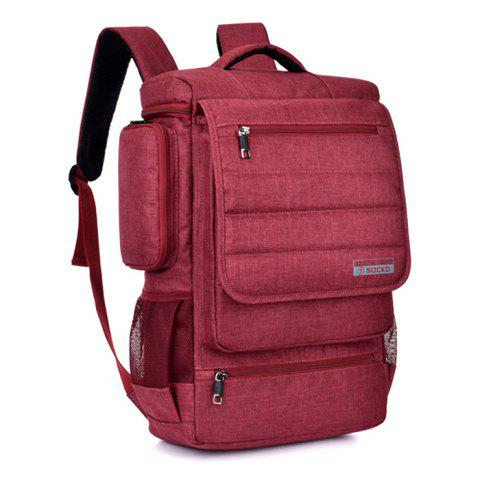 SOCKO Fashionable Outdoor Backpack - RED