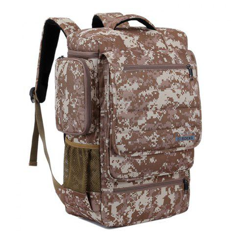 SOCKO Fashionable Outdoor Backpack - DIGITAL DESERT CAMOUFLAGE
