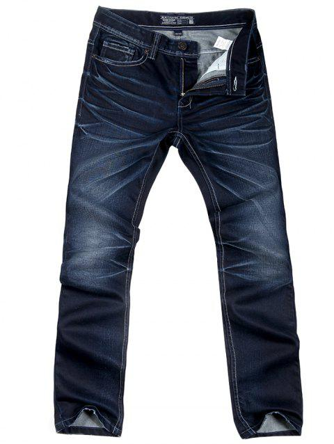 A LA MASTER Denim Men Fit Jeans - DARK SLATE BLUE 36