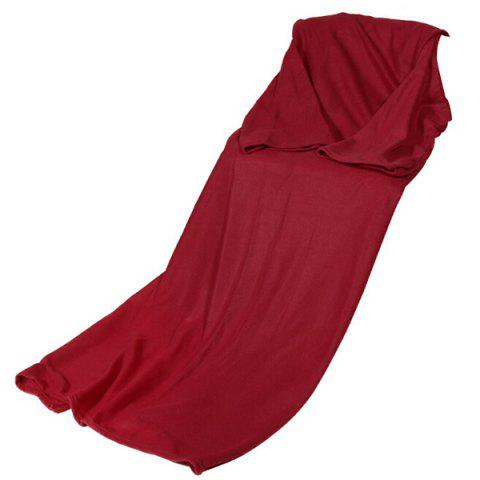Multifunctional Portable Anti-pilling Thermal Blanket - RED